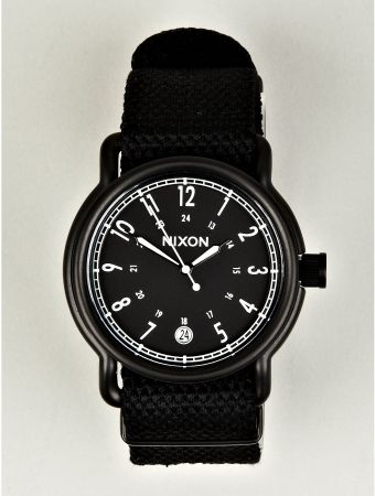 Nixon Axe All Black Wrist Watch - Lyst