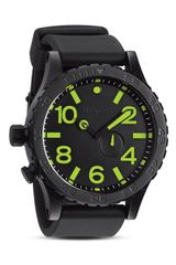 Nixon The 5130 Pu Watch in Black 51mm - Lyst