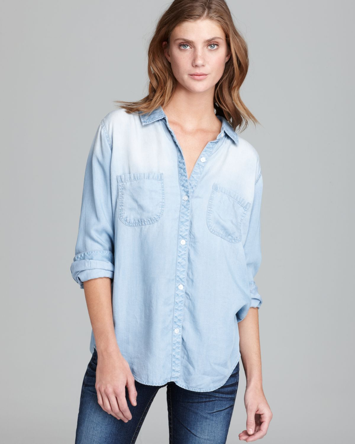 7a378d4903 Rails Shirt Carter Denim in Blue - Lyst