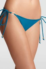 Shoshanna Ring String Bikini Bottom - Lyst