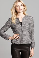 Theory Jacket Jondi Pursue Tweed - Lyst