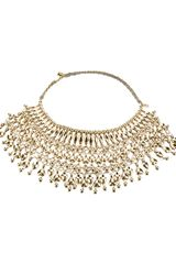Aurelie Bidermann Bib Necklace - Lyst
