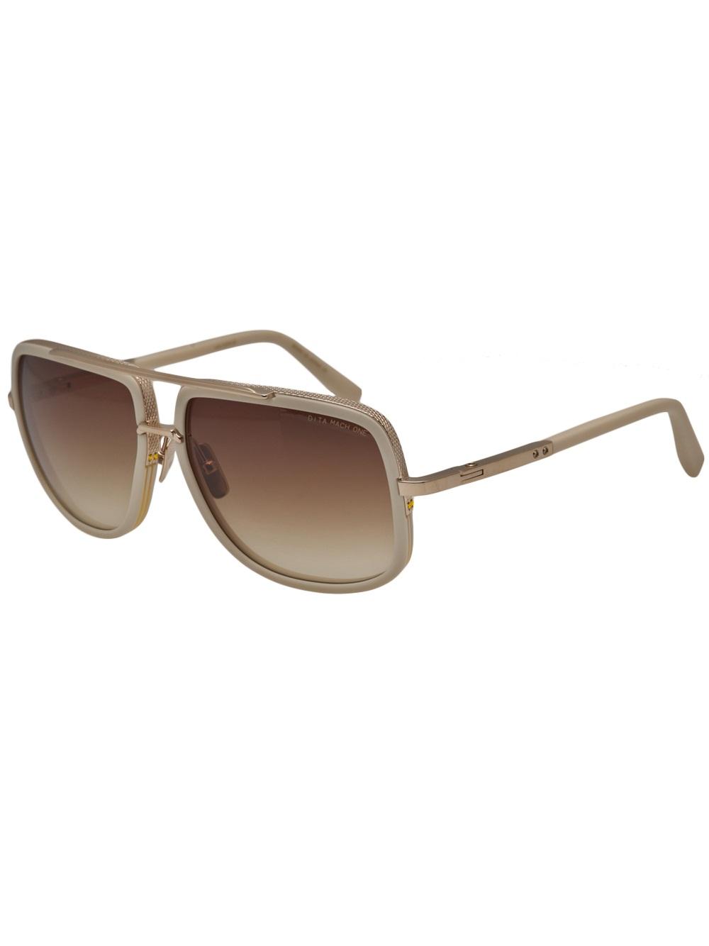 Mach 1 Sunglasses  dita mach one sunglasses in white for men lyst