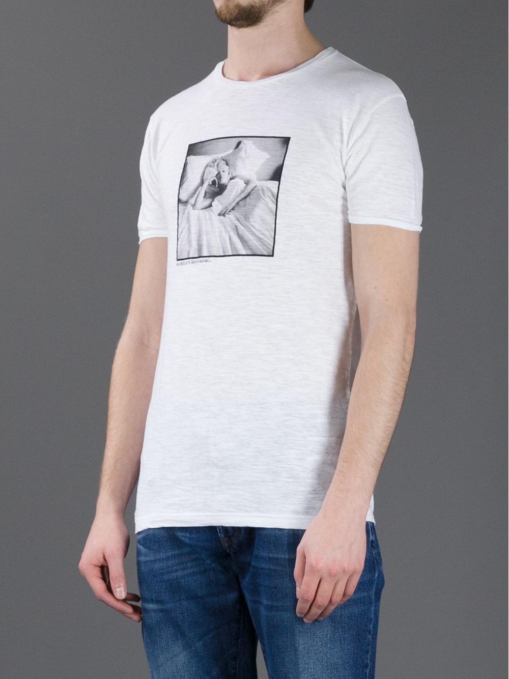 7a1902bd193 Lyst - Dolce   Gabbana Marilyn Monroe T-Shirt in White for Men