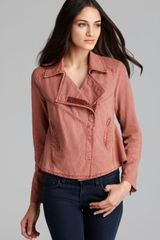 Free People Jacket Rumpled Textured - Lyst