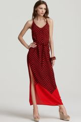 French Connection French Connection Maxi Dress Ziggy Silk - Lyst