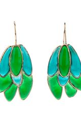 Gripoix Dropped Earrings - Lyst