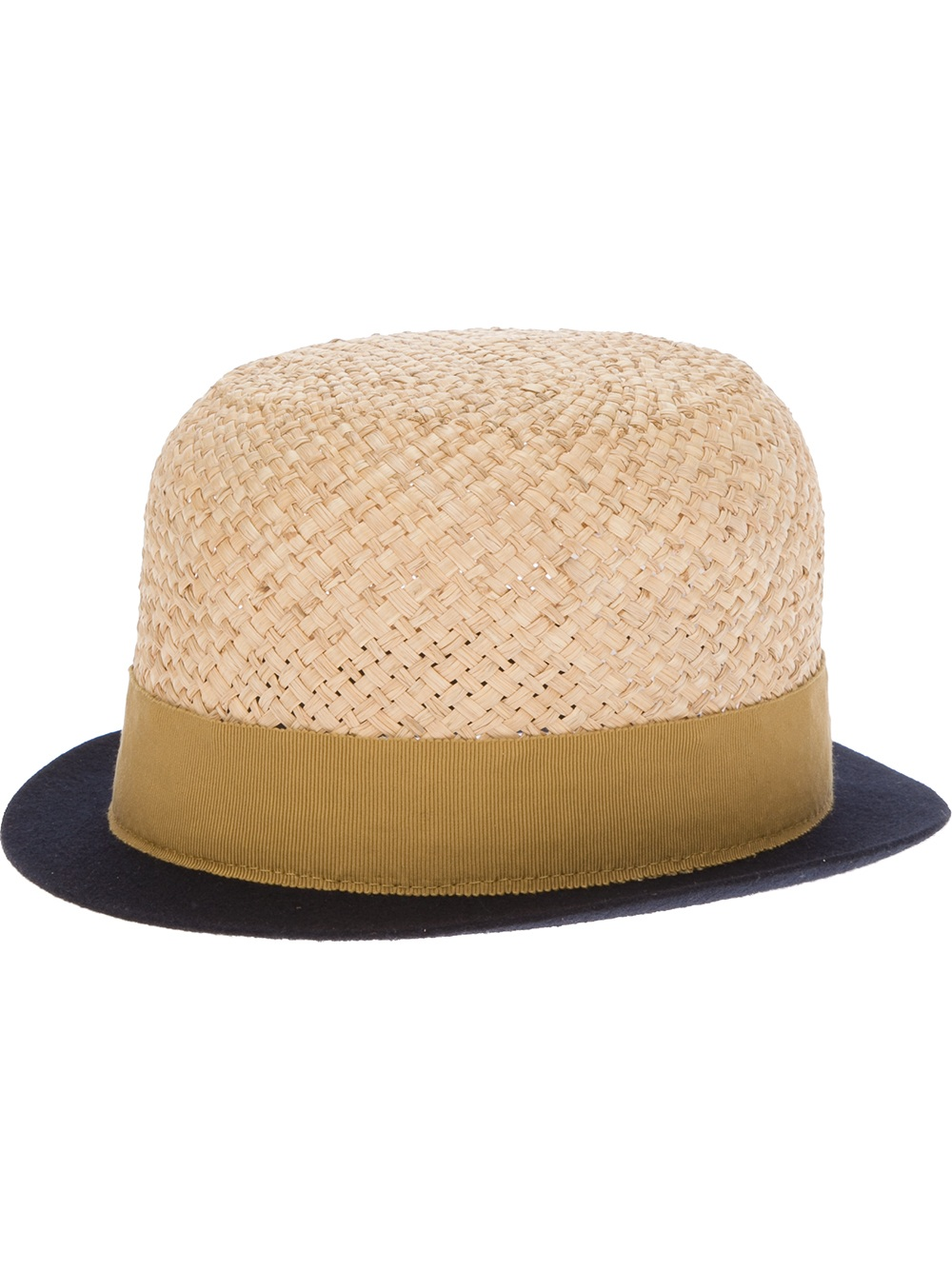 3948974f356 Lyst - Henrik Vibskov Straw Baller Hat in Natural