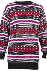 Horace Tribal Sweater - Lyst