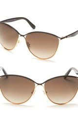 Jimmy Choo Tanis Cat Eye Sunglasses - Lyst