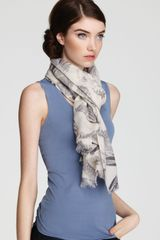 Lola Rose Feather Heart Scarf - Lyst