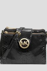 Michael by Michael Kors Crossbody Fulton Large - Lyst
