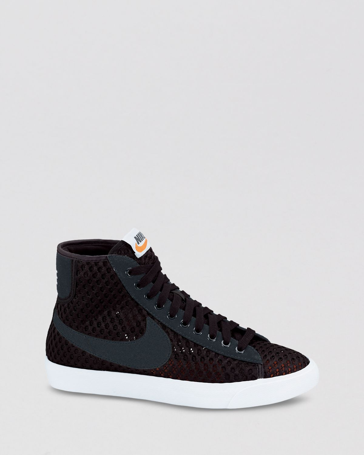 1b06c9babfef ... shop lyst nike sneakers lace up high top sneakers womens blazer mid  91ac0 d045f