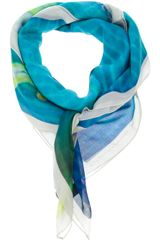 Paul Smith Printed Scarf - Lyst