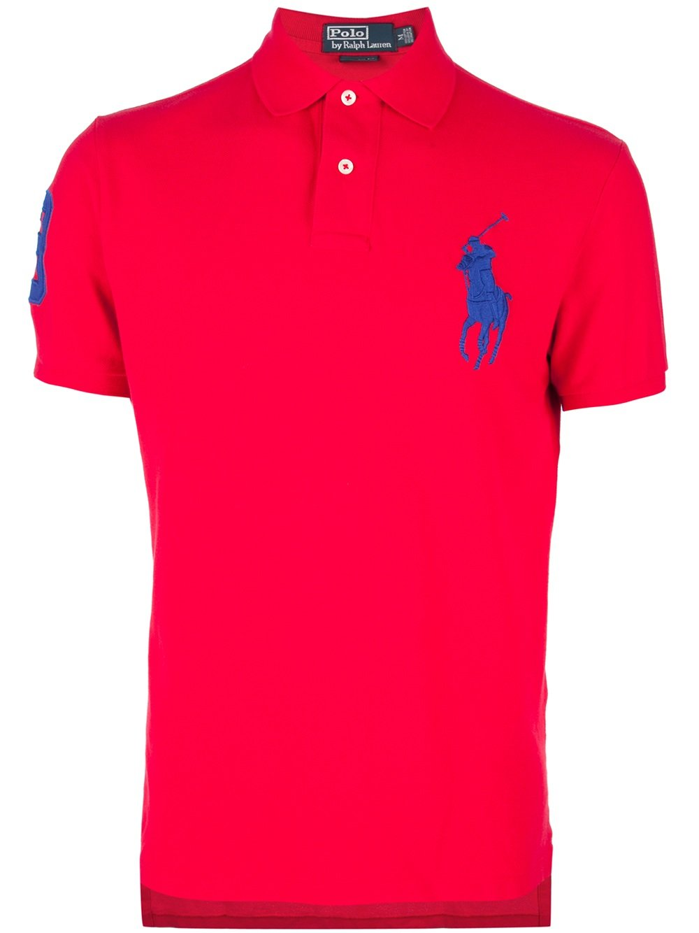 polo ralph lauren polo shirt in red for men lyst. Black Bedroom Furniture Sets. Home Design Ideas