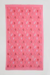 Tory Burch Allover Tlogo Lobster Print Scarf Bougainvillea Pink - Lyst