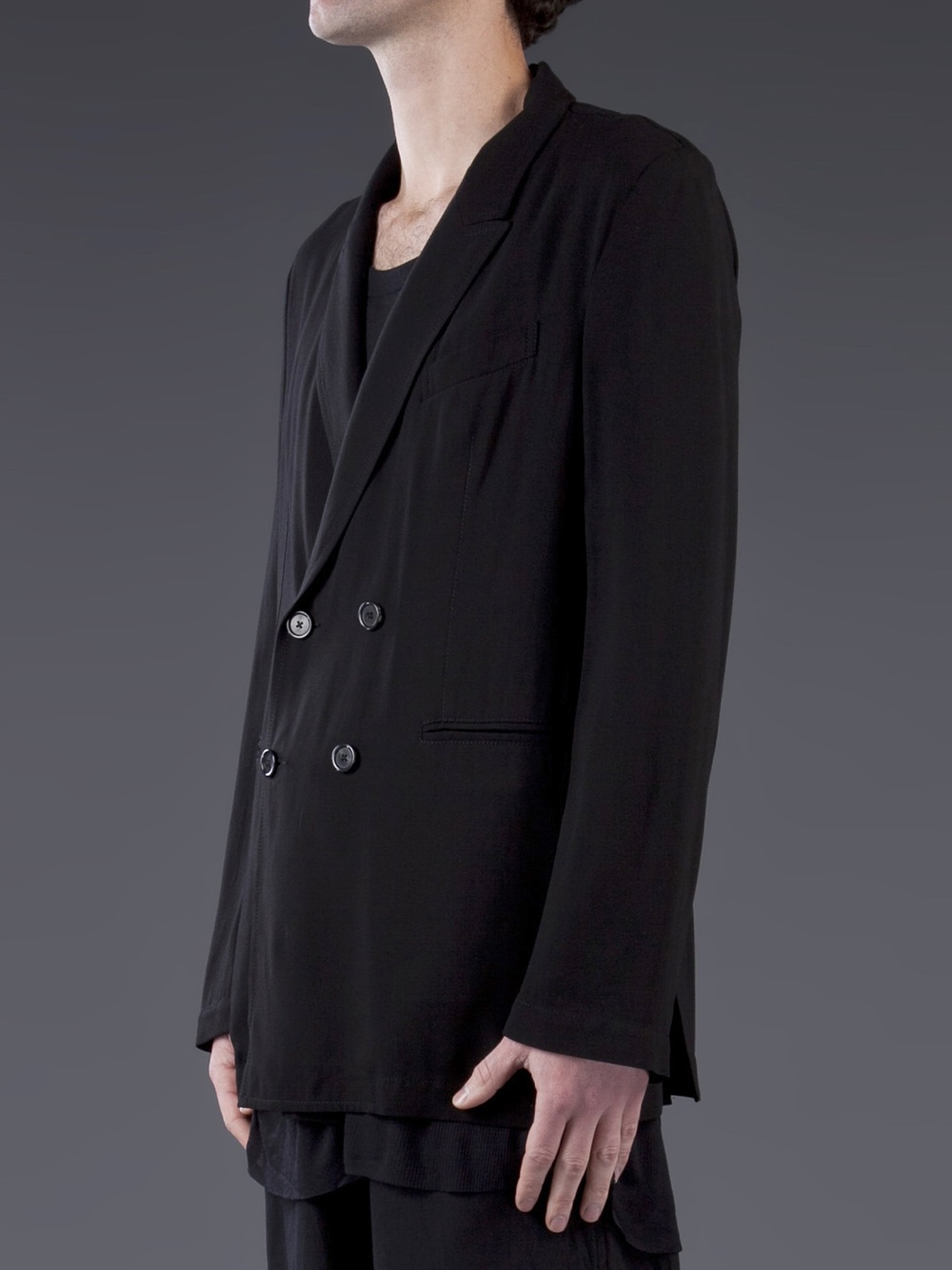 Ann Demeulemeester single breasted blazer Buy Cheap For Cheap Buy Cheap Professional Best Selling Exclusive Cheap Online vBppoVO5