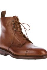 Crockett & Jones Coniston Lace Up Boot - Lyst