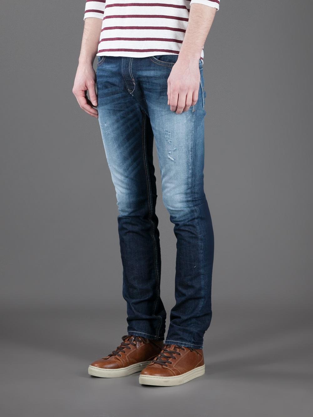 d2150469 DIESEL Thavar Slim Fit Jean in Blue for Men - Lyst