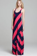 DKNY Scoop Neck Tank Maxi Dress - Lyst