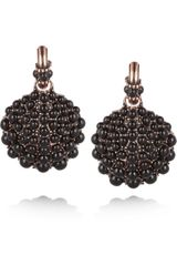 Giles & Brother Rose Goldtone Shell Earrings - Lyst