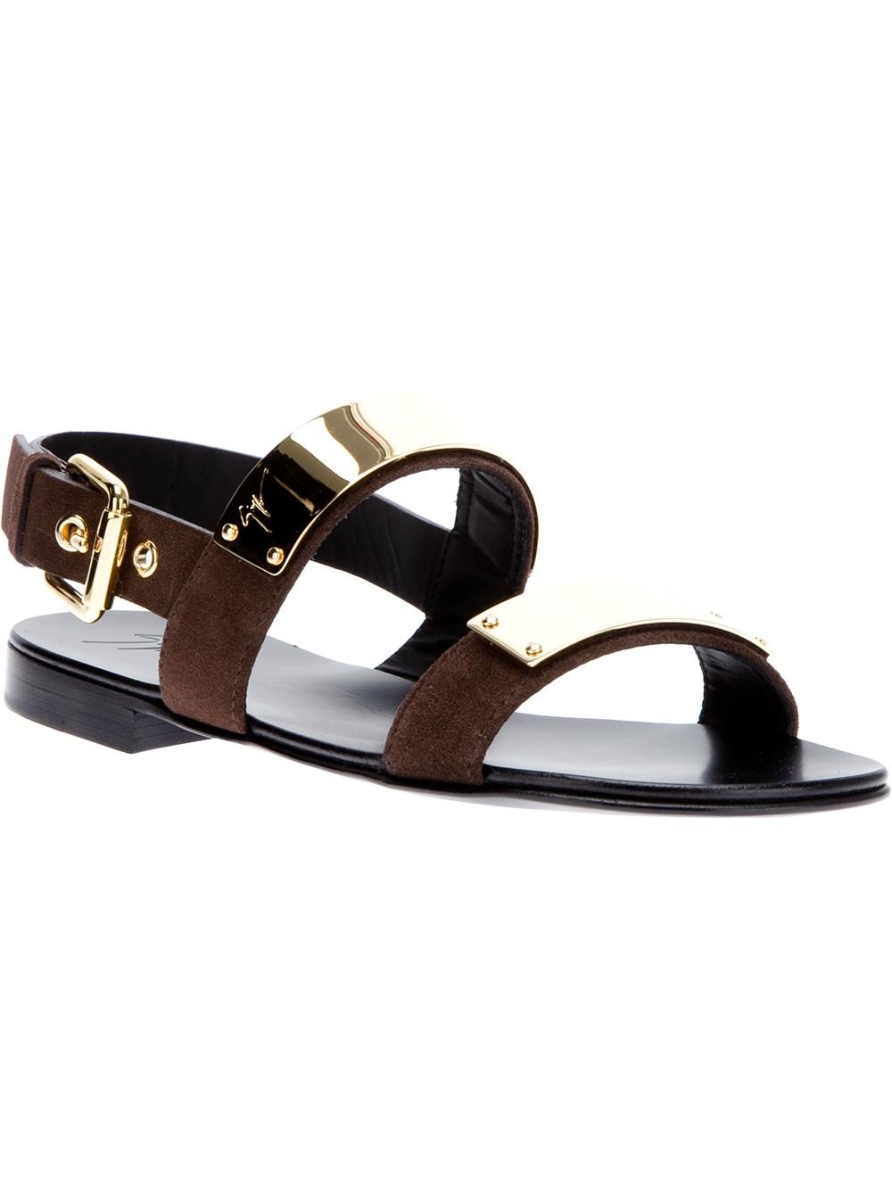 Zak braided-leather sandals Giuseppe Zanotti BkIIypAFp