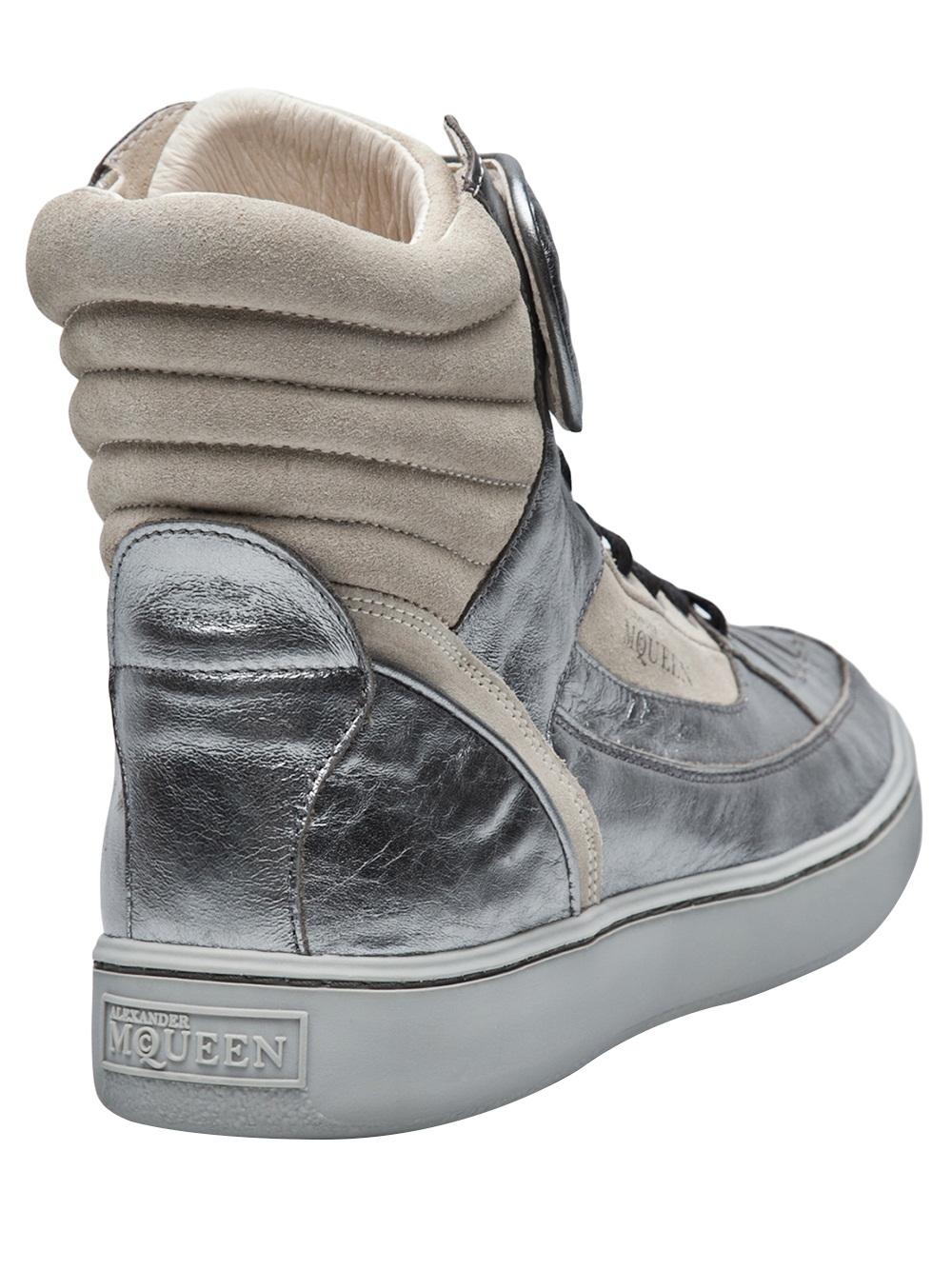 Lyst - Alexander McQueen X Puma Joust Boot in Metallic for Men d2b63ab84