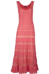Alberta Ferretti Knit Maxi Dress - Lyst