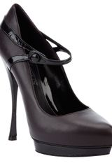 Alexander McQueen Mary Jane Pump - Lyst