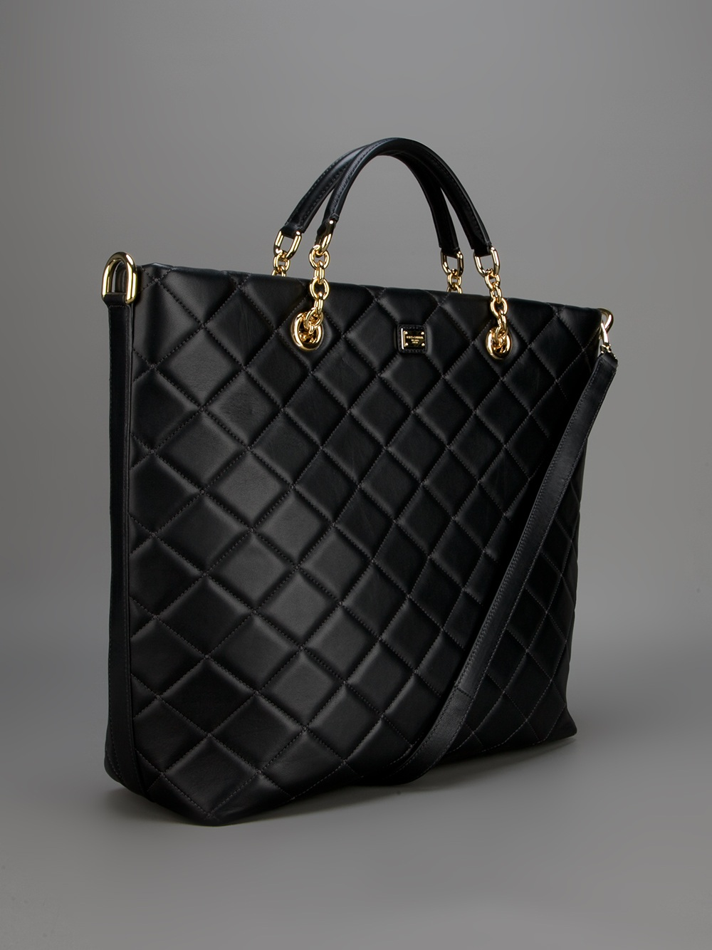 by junior girl drake gallery tote quilt nylon product bags in the lyst its it quilted black s normal
