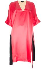 Fendi Vneck Dress - Lyst