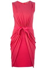 Giambattista Valli Belted Dress - Lyst