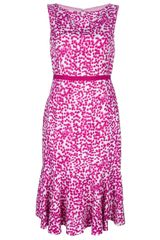 Giambattista Valli Printed Dress - Lyst