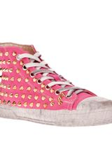 Gienchi Studded Hightop Trainer - Lyst