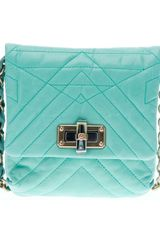 Lanvin Mini Pop Happy Quilted Shoulder Bag - Lyst