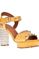 Marc By Marc Jacobs Highheeled Sandal - Lyst