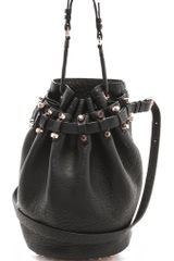Alexander Wang Diego Bucket Bag with Rose Gold Hardware - Lyst