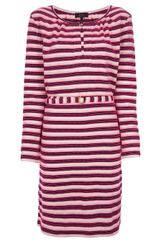 A.P.C. Striped Shift Dress - Lyst