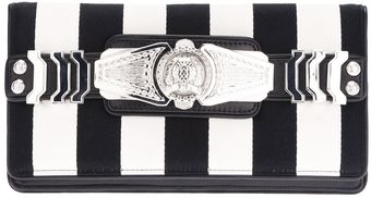 Balmain Ornate Strap Clutch - Lyst