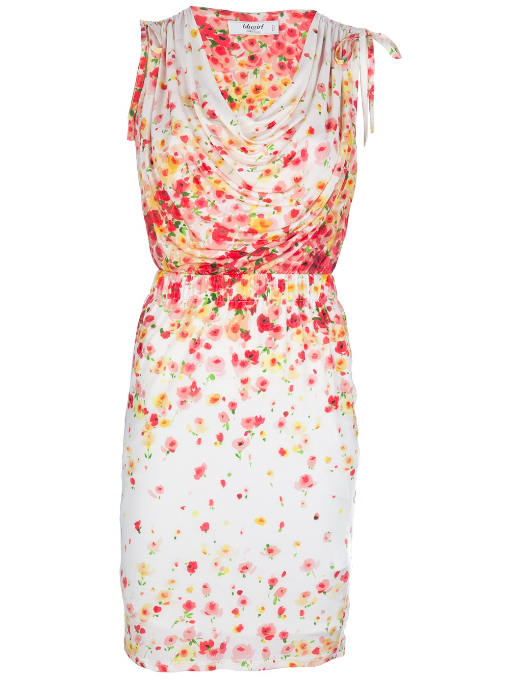 Floral pattern dress Blugirl Buy Cheap Manchester Cheap Get To Buy A17Z6HaDMp