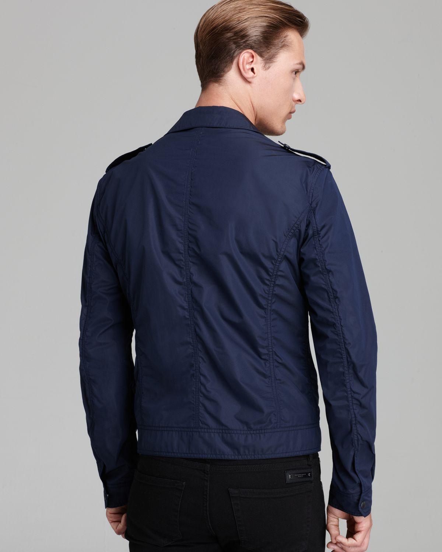 Burberry Brit Middlesham Lightweight Jacket in Blue for Men | Lyst