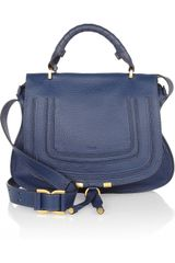 Chloé The Marcie Large Leather Satchel - Lyst