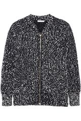 Chloé Knitted Wool Blend Jacket - Lyst