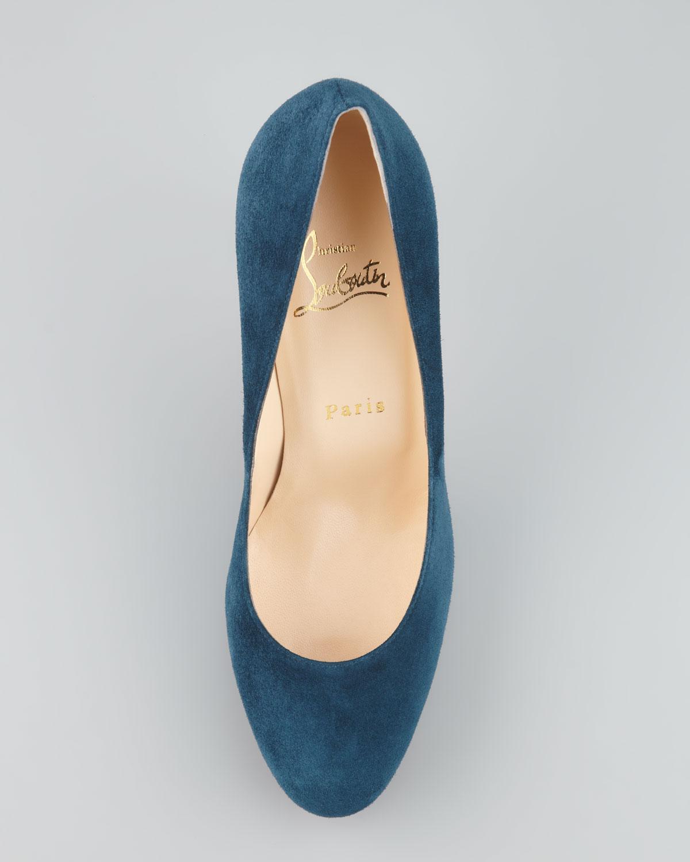 christian louboutin blue soles - Bavilon Salon