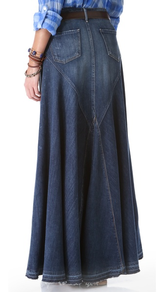 d7d7636f51 Citizens of Humanity Anja Maxi Skirt in Blue - Lyst