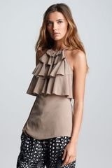 Cut25 Tiered Ruffled Top - Lyst