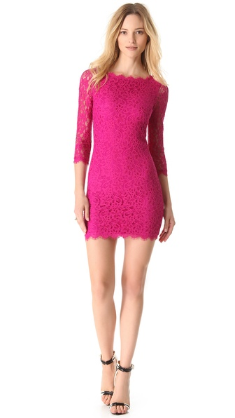 Dvf Zarita Lace Dress Sale View Fullscreen