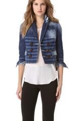 DSquared2 Sailorette Denim Blazer - Lyst