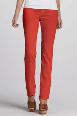Eileen Fisher Straight Leg Jeans - Lyst