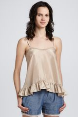 Elizabeth And James Norma Ruffle-hem Top - Lyst